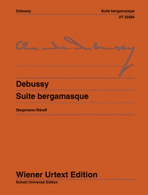 Debussy: Suite Bergamasque for Piano published by Wiener Urtext